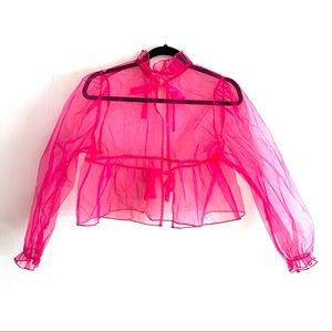 Vintage Tops - organza top